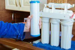 تعویض قطعات دستگاه تصفیه آب