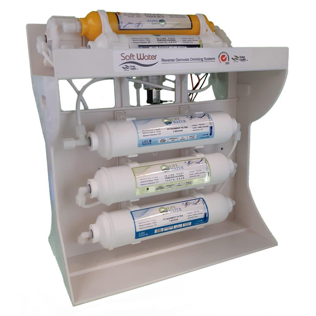 دستگاه تصفیه آب اینلاین سافت واتر