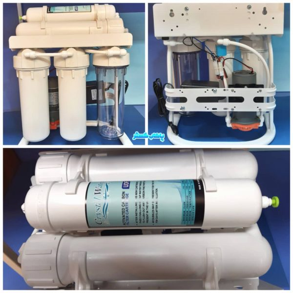 دستگاه تصفیه آب نیمه صنعتی 400 گالن