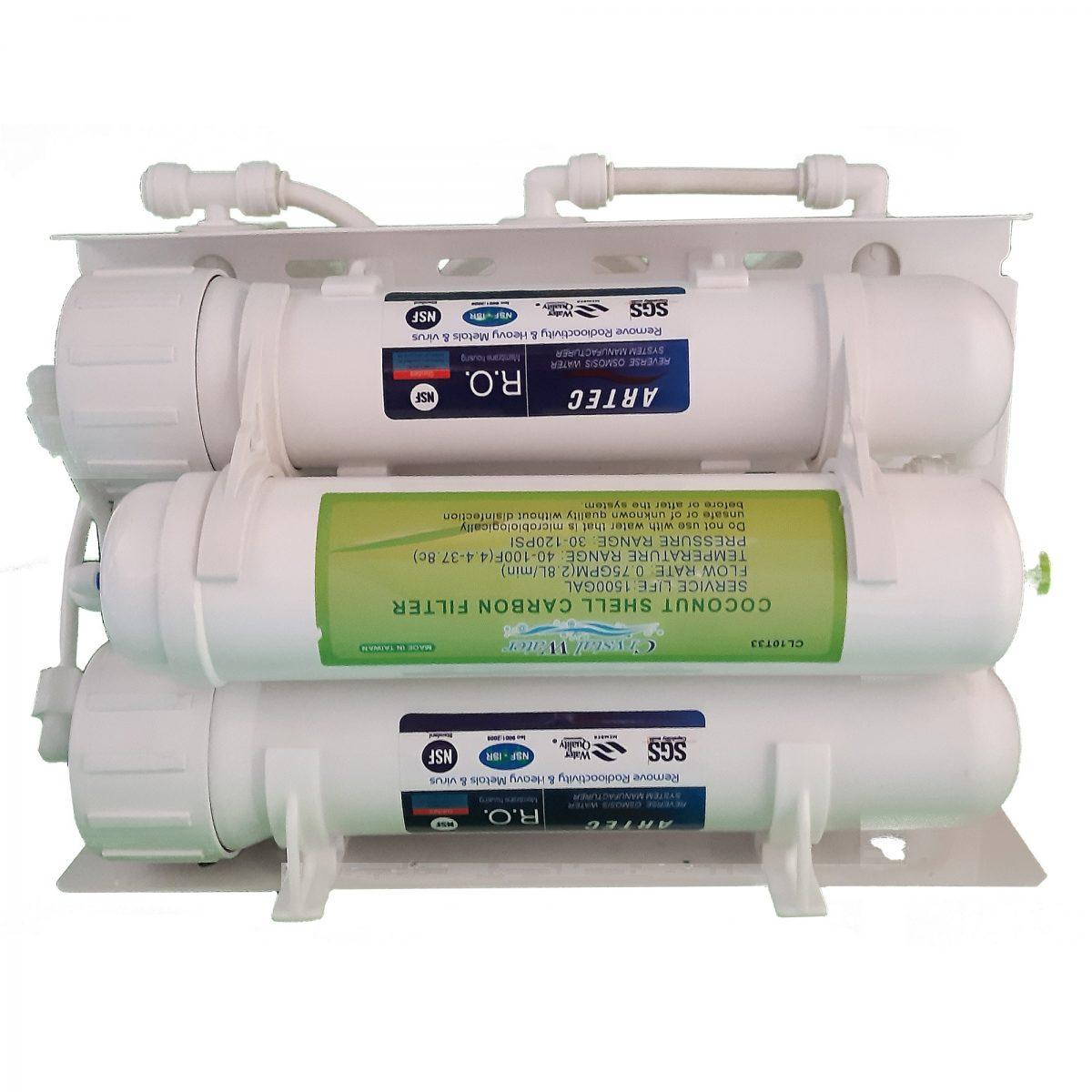 تصفیه آب نیمه صنعتی 200 گالن ازبالا