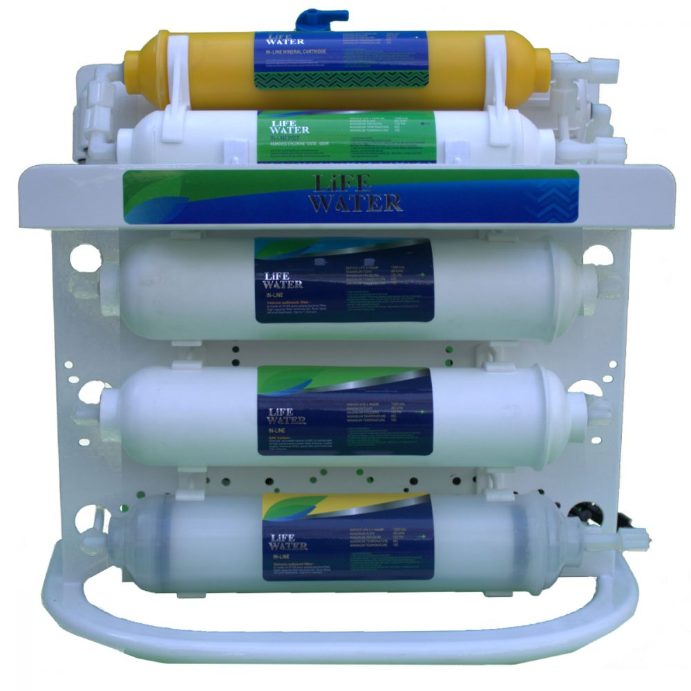 دستگاه تصفیه آب اینلاین لایف واتر مدل اکو