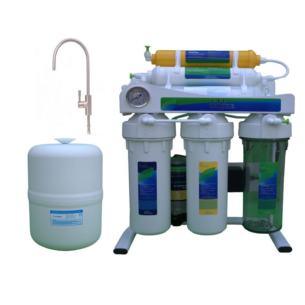 دستگاه تصفیه آب لایف واتر مدل نوبل