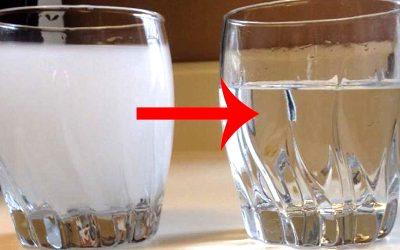 وجود حباب در آب تصفیه شده