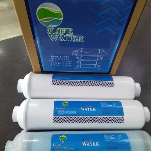 فیلتر 3 مرحله اول دستگاه تصفیه آب اینلاین
