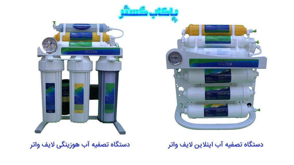 مقایسه دستگاه های تصفیه آب اینلاین و هوزینگی